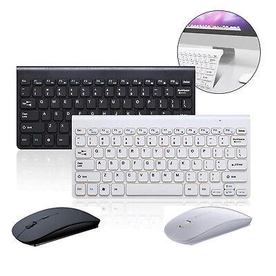 Wireless Kabellos Funk USB Keyboard Tastatur und Maus für PC Computer Bluetooth (Wireless-tastatur Und-maus)