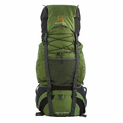MPG Alpine 3600 60L Internal Frame Hiking Backpack Scout Backpack Army Green 481d942c2466e