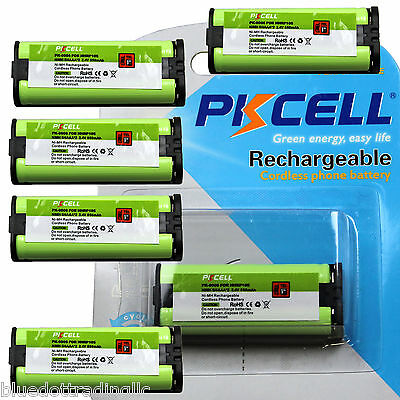 6 Qty Rechargeable Battery Hhr-p105 Hhrp105 Type 31 Phone...