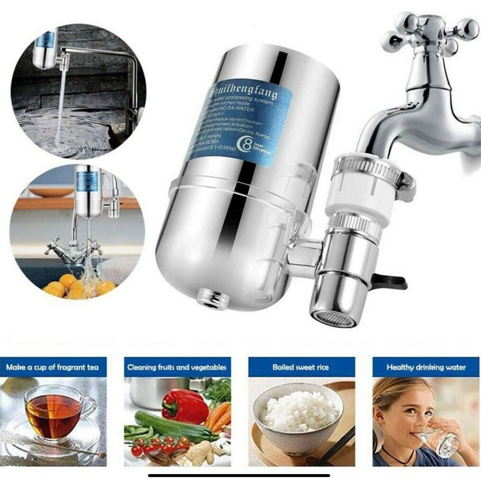 water purifier tap for kitchen bathroom sink
