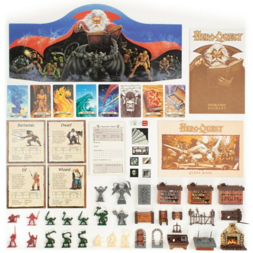HeroQuest Parts | Complete or Expand Your Game!