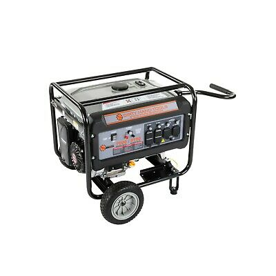 8750w Gas Powered Generator With Wheels And Handle - Dirty Hand Tools