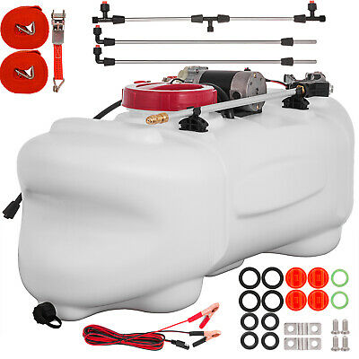 15.8 Gallon Atv Broadcast And Spot Sprayer 1.3 Gpm 12v Farm Multiple Accessories