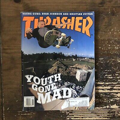 THRASHER magazine November 1999 SKATEBOARDING/SKATEBOARD
