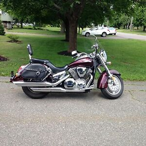 2007 Honda VTX1300 with accessories