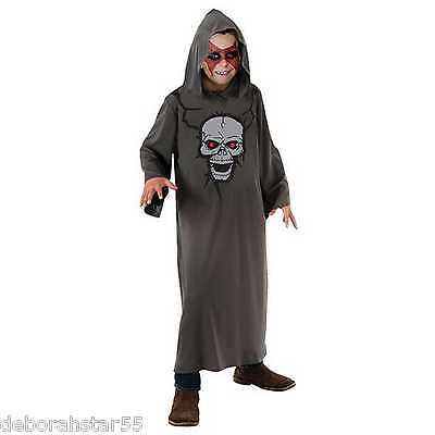Boys Grim Reaper Devil Demon Skull Fancy Dress - Skull Reaper Kostüm