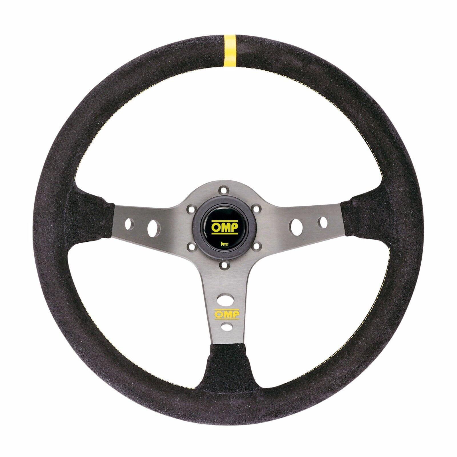 Unique Black Omp OD//1956//N ompod//1956//N Corsica Leather Steering Wheel