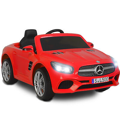12V Electric Kids Ride On Toy Cars Benz SL500 6 Speeds w/ Remote Control Red