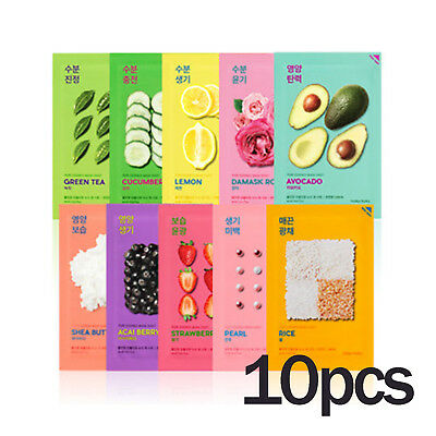 Holika Holika Pure Essence Mask Sheet 10pcs