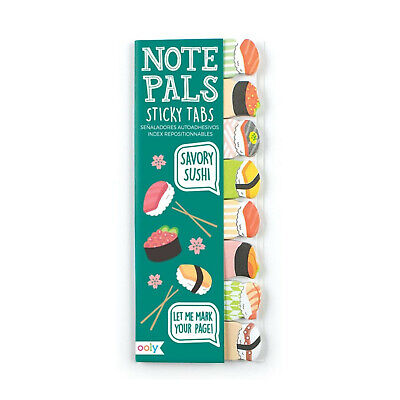 Ooly Note Pals Sticky Tabs Savory Sushi