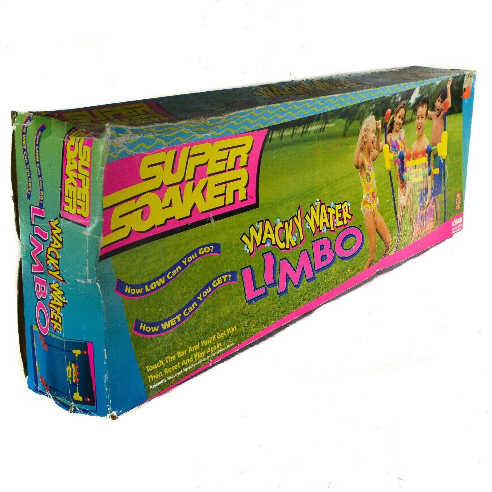 1996 Larami Super Soaker Yard Lawn Hose Play Wacky Water Lim