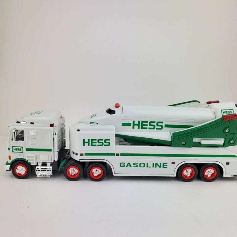 Hess 1999 Toy Truck and Space Shuttle with Satellite In Original Box READ