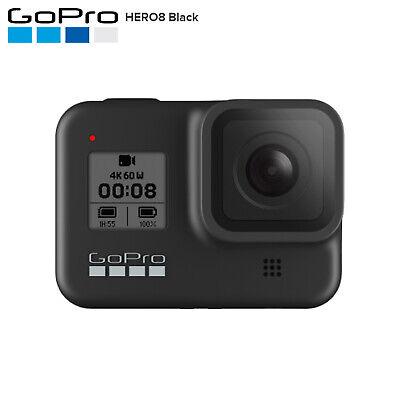 GoPro CHDHX-801 HERO8 Black 4K Waterproof Touchscreen Action Camera Camcorder
