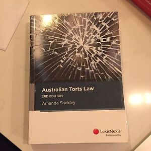 Torts Law Textbooks The Gap Brisbane North West Preview