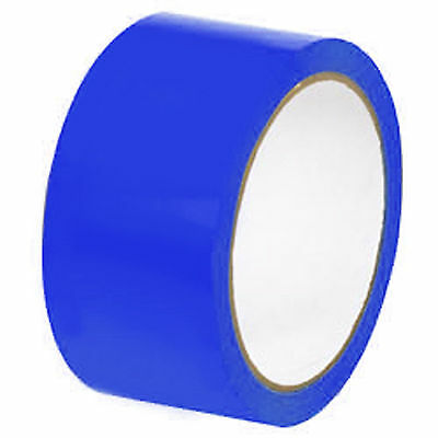 24 Rolls Blue Packaging Sealing Packing Tape 3x330