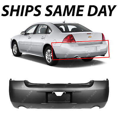 NEW Primered - Rear Bumper Cover Replacement for 2006-2013 Chevy Impala 19120961