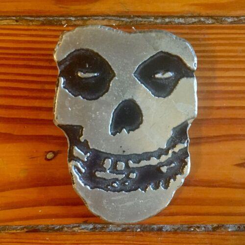 The Misfits Crimson Ghost Skull Belt Buckle Vintage 2000 Mobtown Chicago Monster