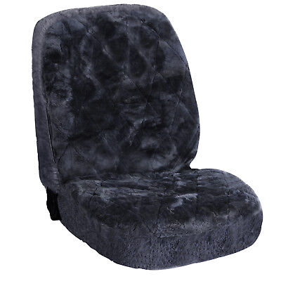WOLTU® Lammfellbezug Sitzbezug Auto PKW echt Lammfell Vordersitzbezug AS7334gr online kaufen