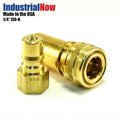Quick Disconnect Couplers For Carpet Cleaning Extractor Wands Hose 14 Brass