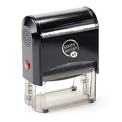 (Personalised Rubber Stamps, Self Inking, Name Address Business Garage School etc)