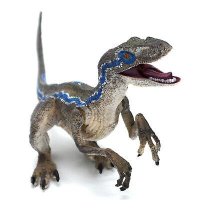 Kids Christmas Toys (Raptor Blue Velociraptor Figure Jurassic Dinosaur Model Toy Kids Christmas)