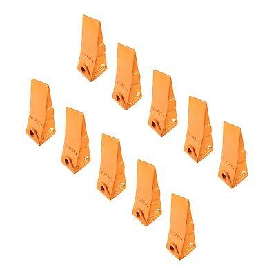 10 - Bobcat Style Mini Excavator Skid Steer Bucket Teeth - 6737325