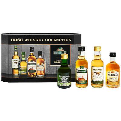 (130,0€/1,0l) Kilbeggan Irish Whiskey Collection - Tasting Set 4 * 0,05l 40%/43%
