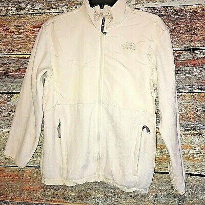 The North Face Girls XL Polartec off-White Fleece Full Zip Jacket Outdoors