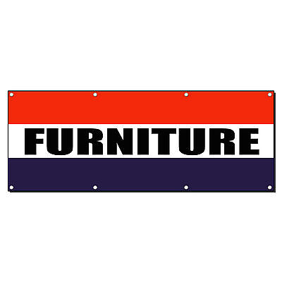 Furniture Promotion Business Sign Banner 4 X 2 W 4 Grommets