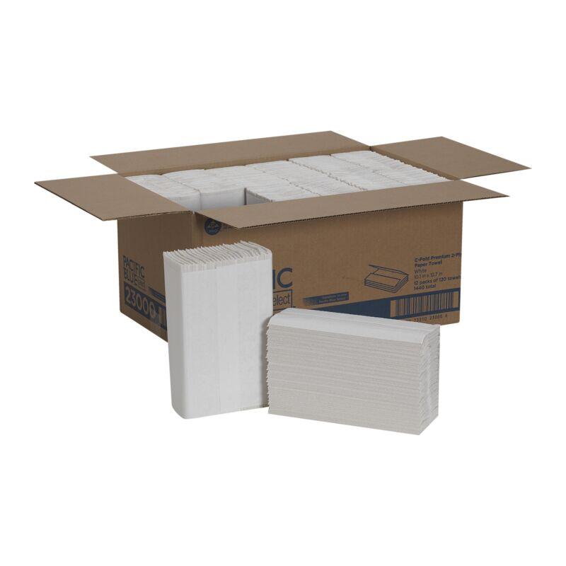 Pacific Blue Select C-Fold Paper Towel 23000 12 Case(s) 120 Towels/ Case