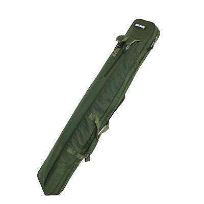 Rutenfutteral G5 Angeltasche Ruten Tasche Futteral mit Aussentaschen für 2 Ruten