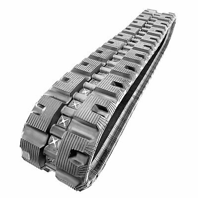 1 Hiqual Rubber Track For Case Tr270 Tr310 Nh C175 C227 Takeuchi Tl6