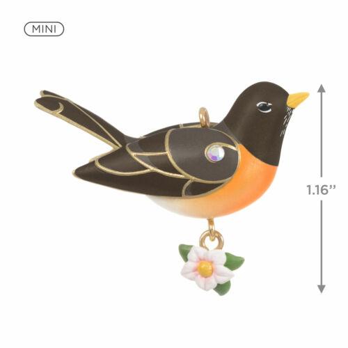 """Mini Spring Robin Ornament, 1.16"""". New In Box"""