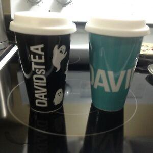2 tasses David's Tea neuve