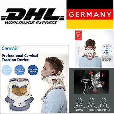 Medical Neck Collar Cervical Traction Device Support Brace Adjus Strecher
