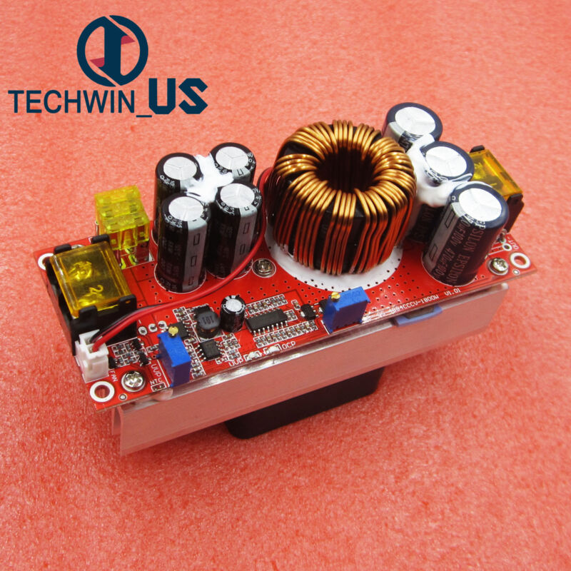 1800W 40A DC-DC Current Boost Voltage Current Power Converter