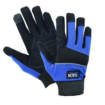Safety Tradesman Glove - HAND PROTECTION MECHANICS TRADESMAN WORK GLOVES SAFETY GARDEN GRIP DIY BUILDERS
