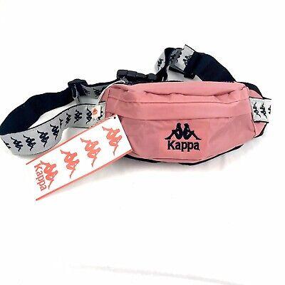 Kappa 222 Banda Anais Fanny Pack Size Small Pink Grey Silver And Black
