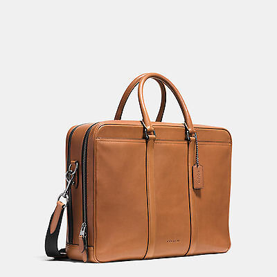COACH METROPOLITAN COMMUTER IN SPORT CALF LEATHER  #71733 RETAIL $595 FATHER DAY