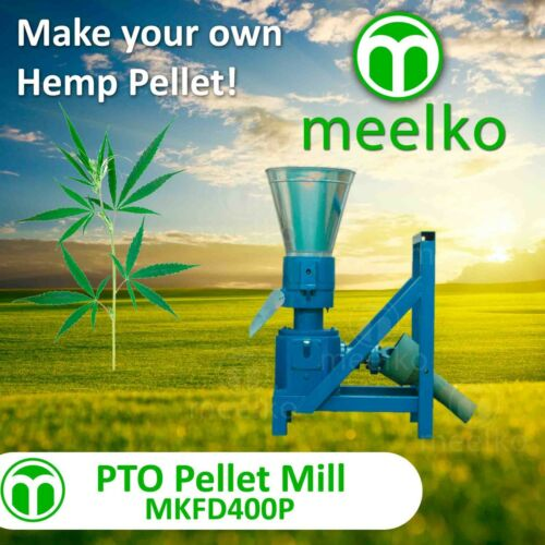 PELLET MILL PTO 400mm Pellet PRESS PTO (HEMP)