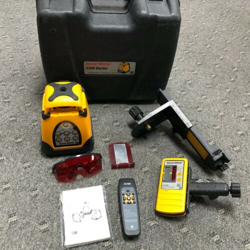 DAVID WHITE 3100 SERIES 3150 AUTOLASER (PRE-OWNED) WORKS GREAT! LASER LEVEL