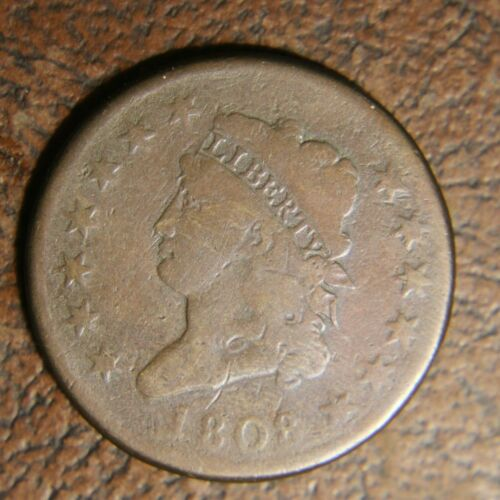 1808 Classic Head Large Cent, S-281