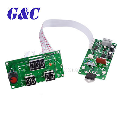 Spot Welding Time And Current Control Board Timing Lcddigital Display 100a40a