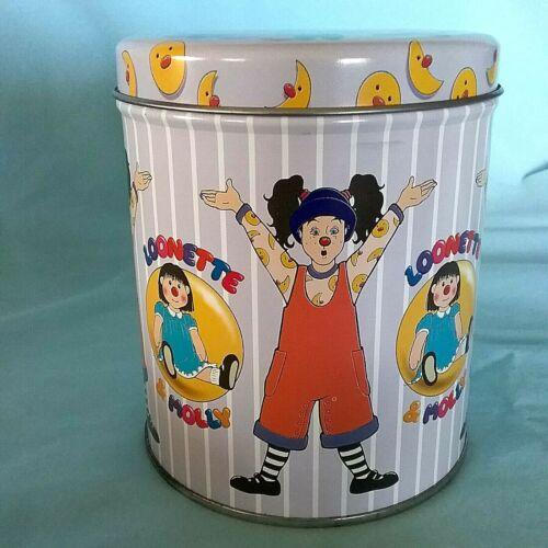THE BIG COMFY COUCH Loonette Molly EMPTY TIN with Lid 1996