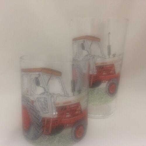 DAVID BROWN JUBILEE 1412 WHISKY/Spirit TUMBLER & 1pt GLASS