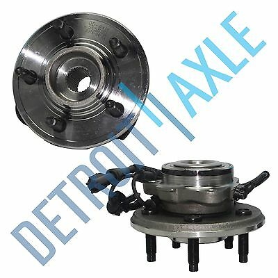 Pair of 2 NEW Front Driver and Passenger Wheel Hub and Bearing Assembly w/ ABS