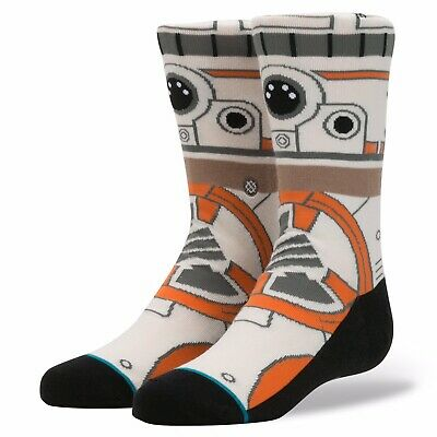"Stance Men's Star Wars Socks ""BB8"" Medium (6-8.5)"