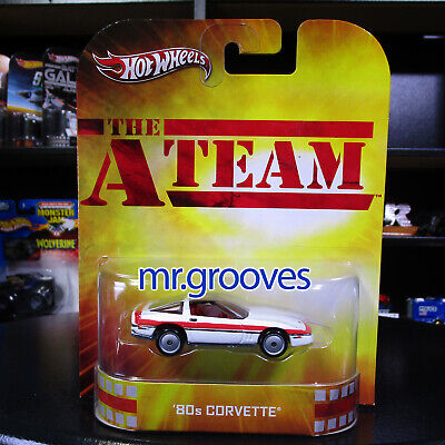 '80s Corvette The A Team Real Riders 2012 Hot Wheels Retro Entertainment