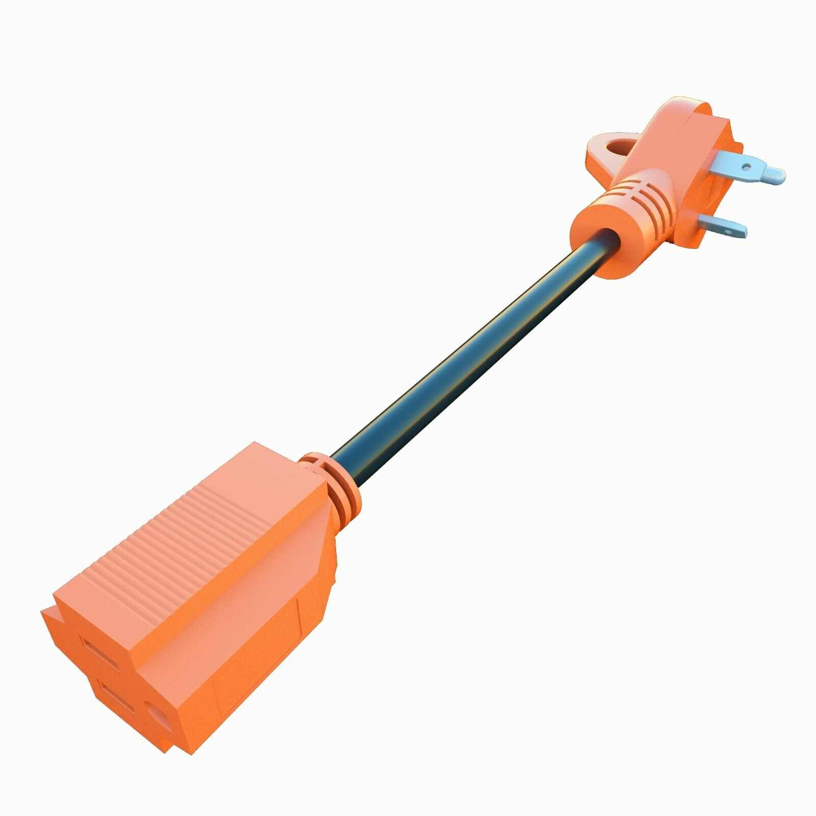 30Amp Female to 15Amp Male Adapter RV Electrical Converter Cord Cable eBay Motors