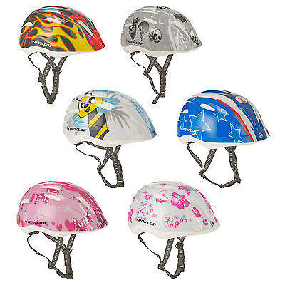 Dunlop Enfants Bicyclette Casque Équipement de Protection Vélo Réglable